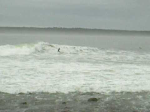Surfing after Hurricane Bill longest waves in the world Nova Scotia
