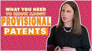 What you need to know about provisional patents | w/Emily Davcev