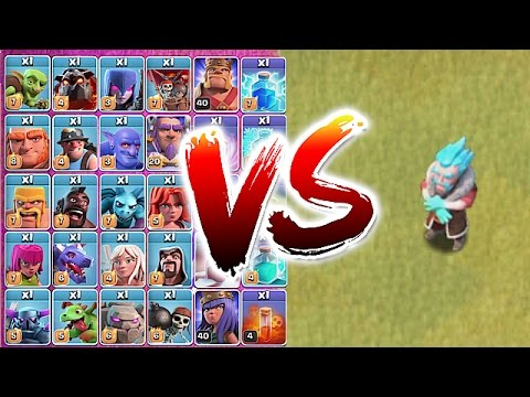 Thumbnail: ALL TROOPS vs. ICE WIZARD!! 😀TROLL TO DEATH!🔸Clash Of Clans