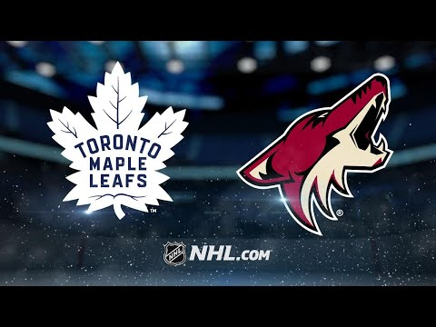 Marleau, Marner propel Leafs to 7-4 win vs. Coyotes