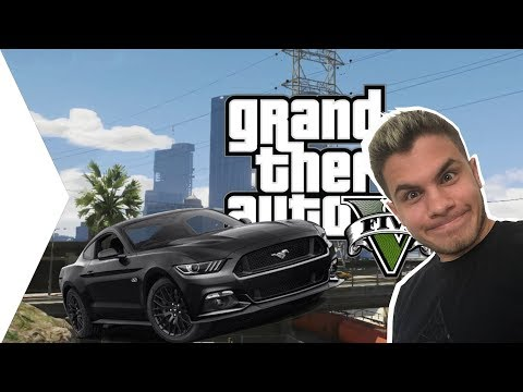 FORD MUSTANG A GTA V-BEN! :D