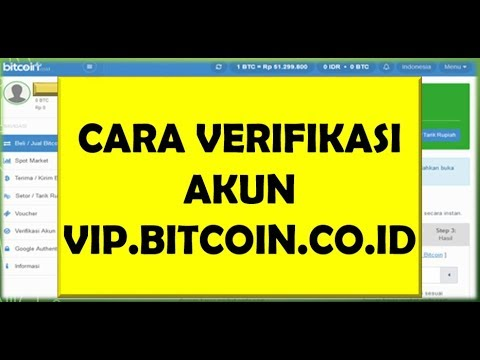 CARA VERIFIKASI VIP.BITCOIN.CO.ID