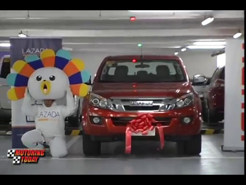 Isuzu Awards D Max to a Lucky Winner in Partnership with Lazada   Industry News
