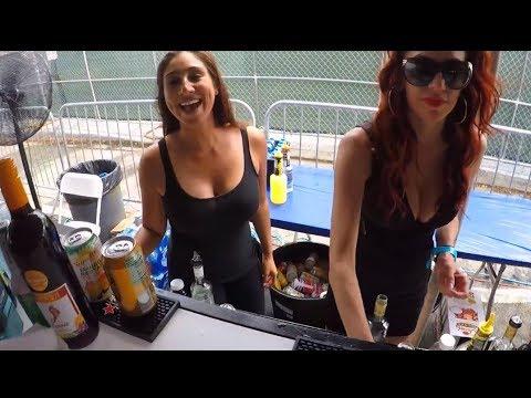 Miami festival party