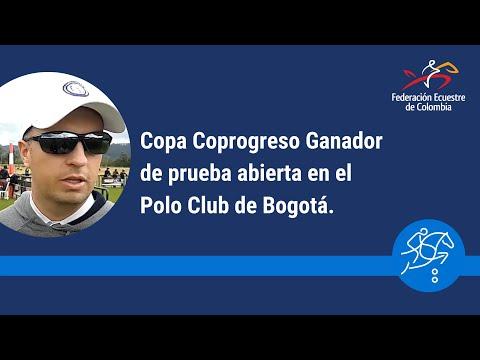 Copa Coprogreso Ganador de prueba abierta en el Polo Club de Bogota