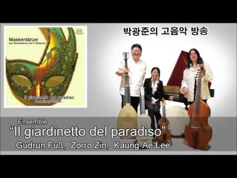 """""""Masque dance"""" ensemble """"Il giardinetto del paradiso"""""""