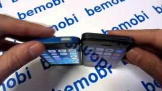 Видео обзор 100% копии iPhone 5S. Китайский Айфон 5С(Отличный вариант для тех, кому нужна