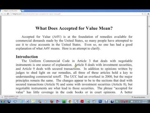 Part 1 Arch  Angel Mak BEST ACCEPTANCE FOR VALUE Video! How To Discharge All Debts!