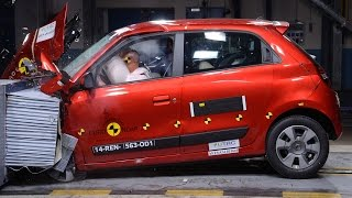 Renault Twingo 3 (2014) CRASH TEST