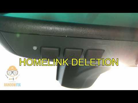 ▶️How to Erase Delete HomeLink Garage Opener Codes ▶️ NO TOOLS NEEDED