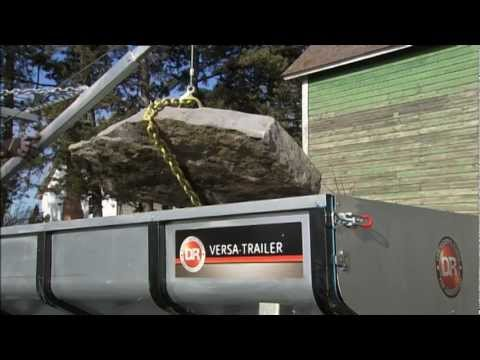 ATV Utility Trailer Like No Other: The DR Versa-Trailer Dump Trailer