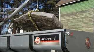 ATV Utility Trailer Like No Other: The DR Versa-Trailer Dump Trailer