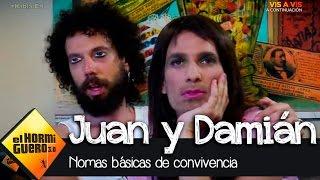Juan y Damián nos enseñan las normas básicas de convivencia en una pareja - El Hormiguero 3.0