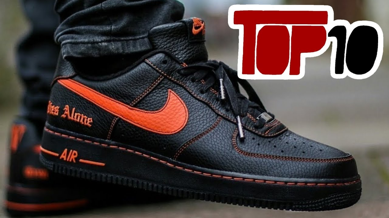 Nike Air Force 1 Shoes Top 10 Most Expensive Nike Air Force 1 Shoes Of 2019 - YouTube