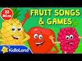 Surprise Eggs Fruit Songs, Activities & Games for Kids   KidloLand