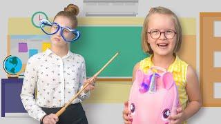 Богдана собирается в школу | Весёлые истории для детей