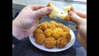 Жареные сырные шарики - Bolinha de queijo