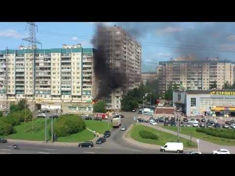 Пожар в Питереиз YouTube · Длительность: 4 мин33 с