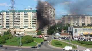 Пожар в Питере