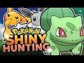 LIVE SHINY BULBASAUR HUNTING! Pokemon Let's Go Pikachu & Eevee Shiny Hunting w/ HDvee