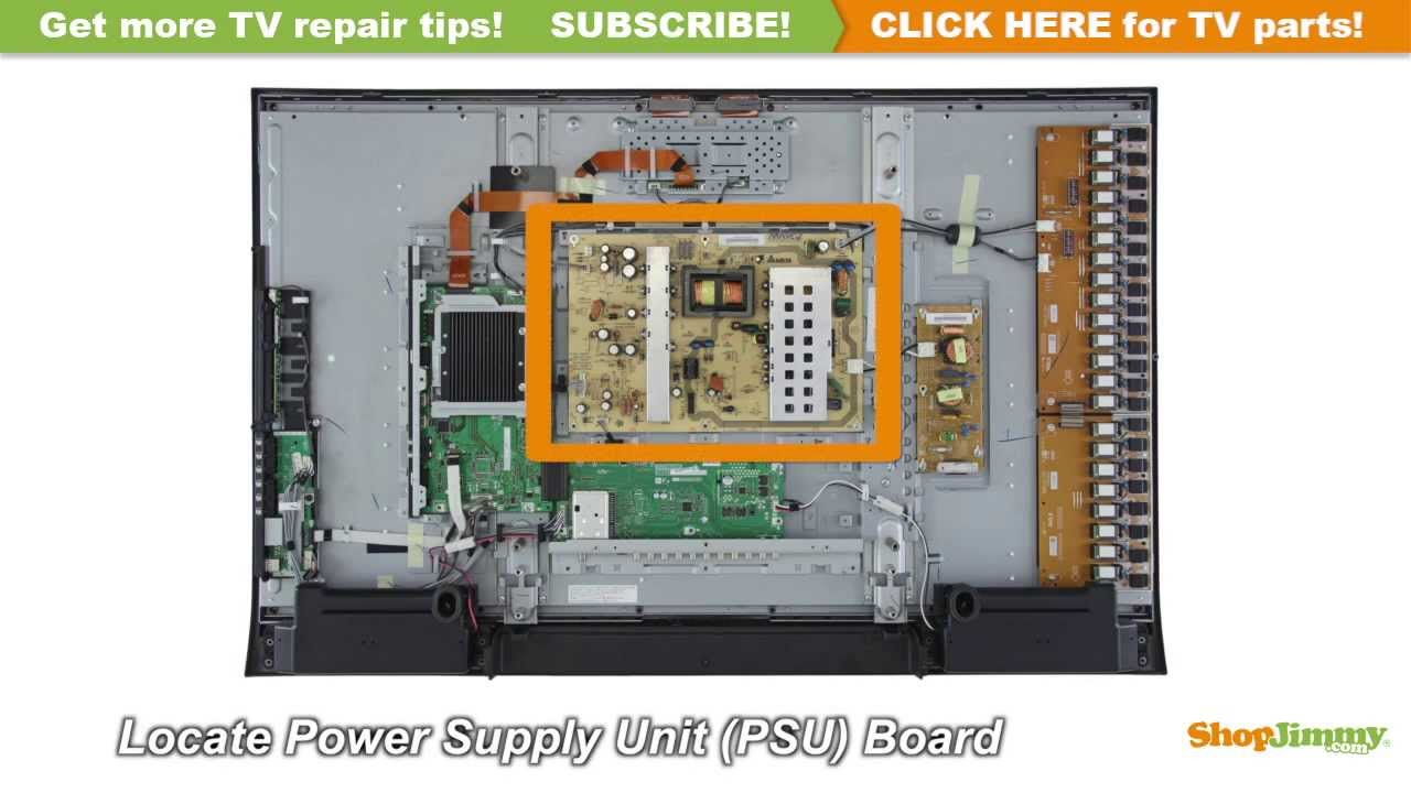 sharp lc 46 lc 52 rdenca235wjqz power supply unit psu boards rh youtube com