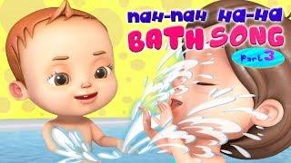 Nah Nah Ha Ha - Bath Song | Baby Ronnie Rhymes | Videogyan Kids Songs | 3D Rhymes
