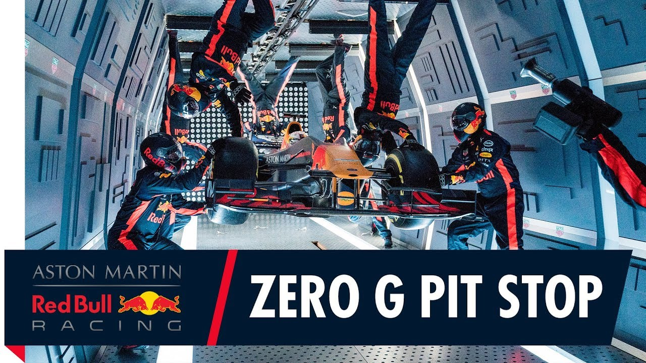Taking an F1 Pit Stop to a whole new level! | Aston Martin Red Bull Racing's Zero Gravity Pit S