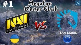 БИТВА за ФИНАЛ!   Na`Vi vs Liquid #1 (BO3)   MegaFon Winter Clash