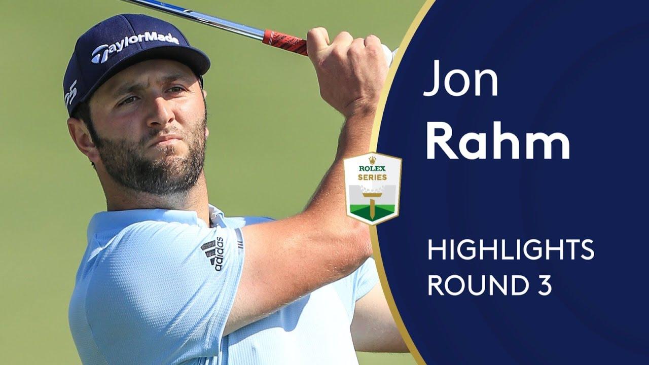 Jon Rahm shoots 66 in Dubai to tie lead | Round 3 | 2019 DP World Tour Championship, Dubai