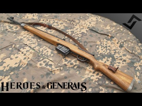 G43 & MG34 Mix - Heroes and Generals - 3 Player German Infantry Blitzkrieg