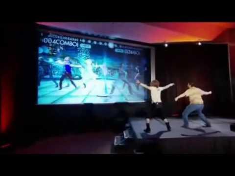 E3 2010 Konami - Dance Masters (demo with Naoki Maeda)