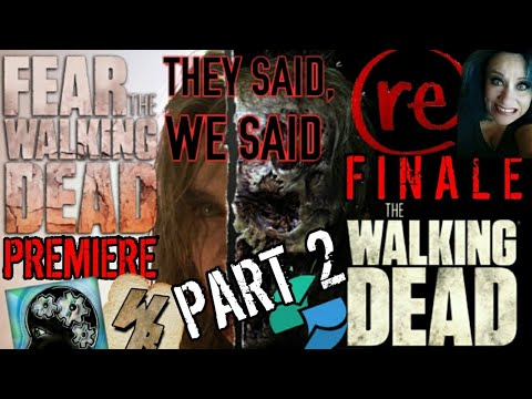 "🔴DGT LIVE! FEAR TWD S4 ""What's Your Story?"" Review"