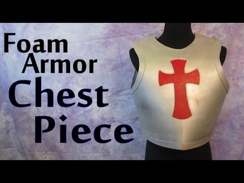Make A Foam Armor Chest Piece Youtube