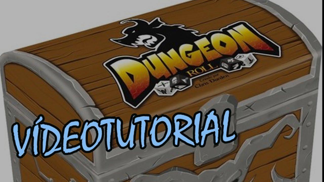 Dungeon Roll Juego De Mesa Resena Aprende A Jugar Youtube