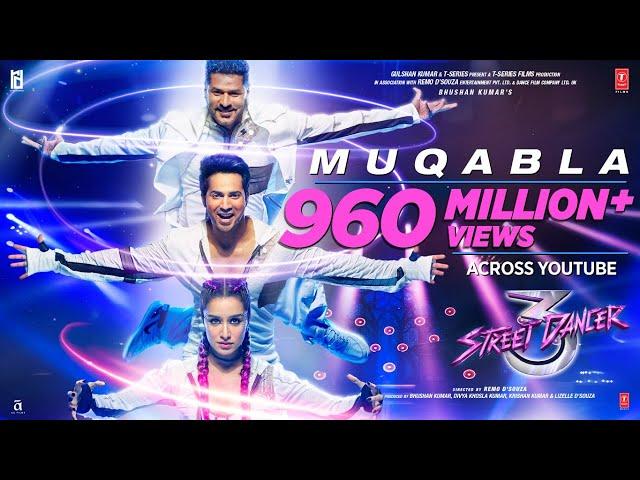 Muqabla - Street Dancer 3D |A.R. Rahman, Prabhudeva, Varun D, Shraddha K, Tanishk B, Yash ,Parampara