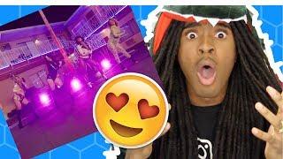 Video REACTION: Fifth Harmony - Down ft. Gucci Mane download MP3, 3GP, MP4, WEBM, AVI, FLV Maret 2018