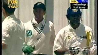SHANE BOND unreal bowling vs INDIA 2002/03 TEST SERIES in NZ- AWESOME BOWLING!!!!