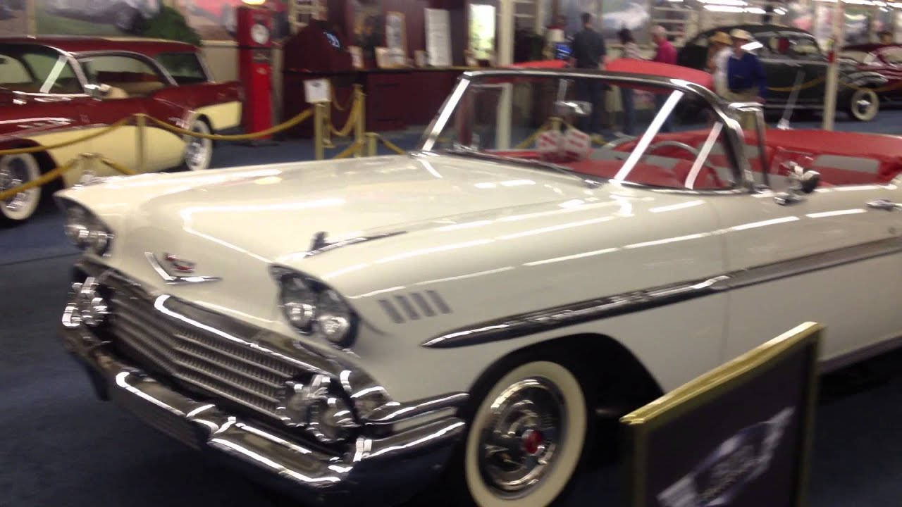 1958 Chevrolet Chevy Impala 348 Tri-Power Convertible For Sale ...