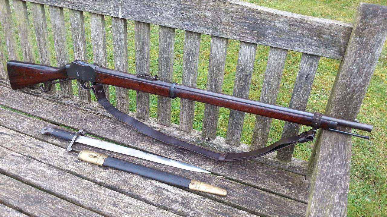 Mk4 Martini Henry Rifle - How I clean it!
