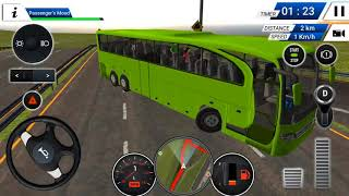Euro Bus Driving Simulator 2018 | Trip To Madrid-Rome | Android/ios Gameplay 2018