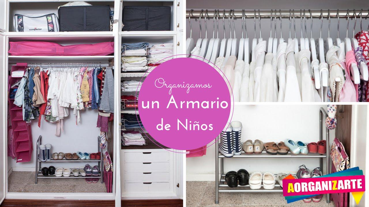 Armario De Nina Aorganizarte Youtube - Armarios-para-nia