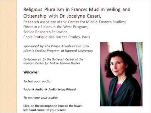 Webinar: Religious Pluralism in France—Muslim Veiling and Citizenship with Dr. Jocelyne Cesari