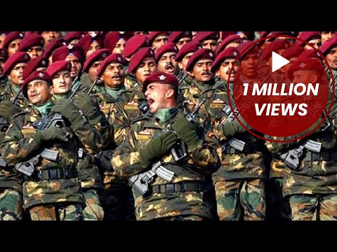 PARA Troopers Marching/Hopping 26 Jan Republic Day   Republic Day Parade