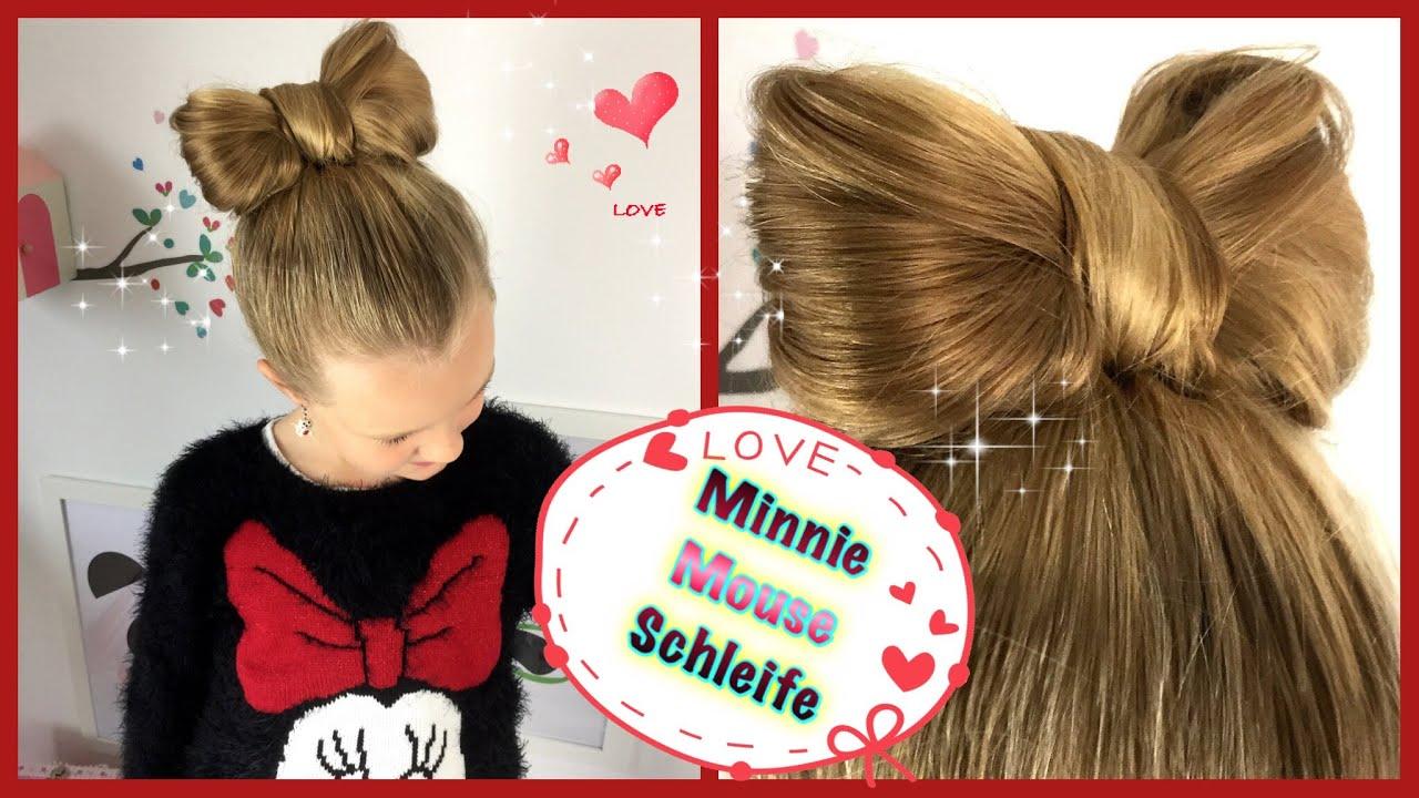 ❤ Minnie Mouse Schleife ❤ Hochsteckfrisur Schleifendutt