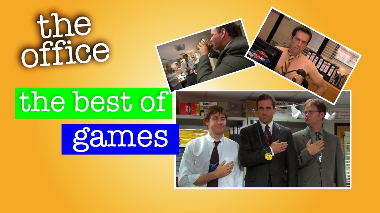 The Best Games Scenes from 'The Office'