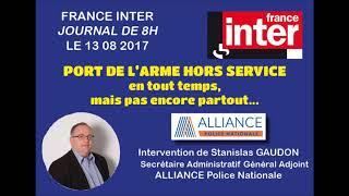 PORT DE L'ARME HORS SERVICE - EN TOUT TEMPS, MAIS PAS ENCORE PARTOUT...