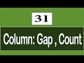 31 - ( CSS3 Tutorial ) Multi-Columns : Column Count , Column Gap