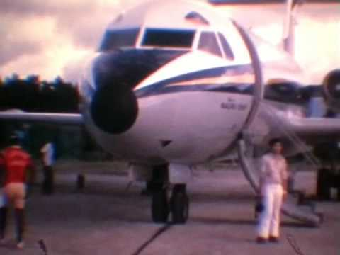 Air Nauru Trip To Kagoshima Japan 1973