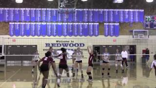 Highlights: Visalia-Redwood sweeps Independence in D-II semifinals