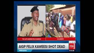 Daughter of AIGP Kaweesi Breaks Down